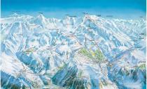 Самую длинную горнолыжную трассу Европы подготовили для ночного катания