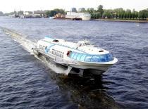 Аквабусы в Санкт-Петербурге начнут работу в конце мая