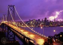 Мост в Сан-Франциско предстал в новом свете