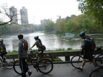 Велосипедный бум в Нью-Йорке
