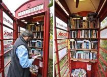 Телефонные будки Нью-Йорка стали библиотеками