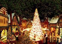 В Монако появилась рождественская деревня