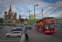 В Москве появился новый маршрут на экскурсионных даблдекерах