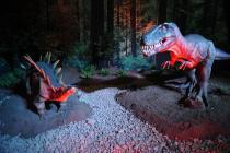 Выставка динозавров проходит в Дубае