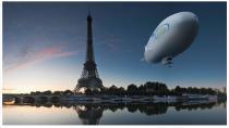 Прогулки на дирижабле над окрестностями Парижа
