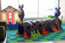 В аэропорту Домодедово открылась игровая комната для детей