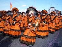 В феврале в Базеле пройдет красочный карнавал