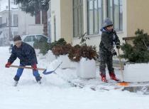 Небывалые холода установились в Греции