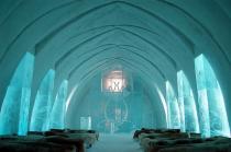 Ледяной отель в шведской Лапландии откроется 7 декабря