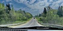 Виртуальное путешествие на машине по России