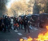 Массовые беспорядки в Испании