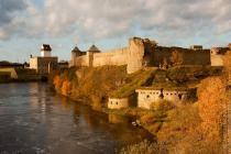 Крепости Нарвы и Ивангорода создают общий благоустроенный маршрут