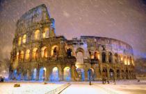 Из-за холодов обрушились фрагменты Колизея