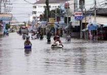 В Таиланде - проливные дожди и наводнения