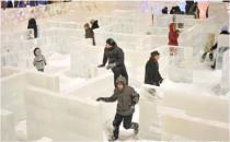"""В московских """"Сокольниках"""" построят ледяной лабиринт"""