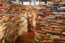 В Лондоне создан лабиринт из книг