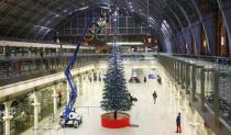 Высочайшая в мире Lego-ель установлена в Лондоне