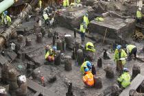 В центре Лондона найден древний город