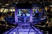 Лондон приглашает поужинать на колесе обозрения