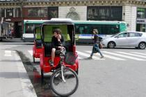 Новый бесплатный и экологичный транспорт в Париже