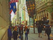 Нью-Йорк - лучший город для прогулок