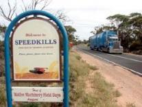 В Австралии теперь есть город «Скорость убивает»