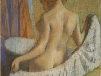 Выставка произведений ню Дега пройдет в Париже