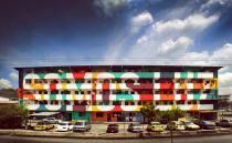 Художники оформляют столицу Панамы