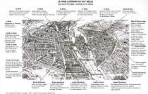 В интернете появилась интерактивная литературная карта Парижа