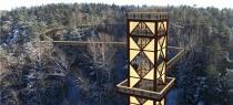Над литовским парком создадут высотную тропу