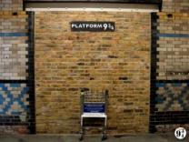 На лондонском вокзале появилась платформа 9 ¾