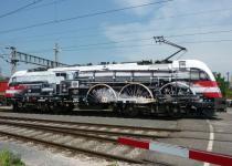 Австрийцы раскрасили электровоз как паровоз