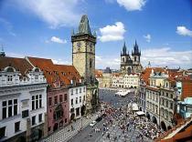 В Праге увеличилось число туристов