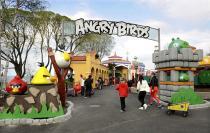 В Лаппенранте откроются парк Angry Birds и новый торговый центр