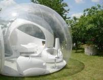 Отель - мыльный пузырь появился в Эстонии