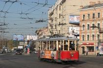 В Санкт-Петербурге появились экскурсии на ретротрамвае