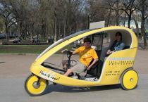В Москве появятся рикши-такси