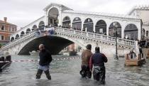 Европа страдает от сильнейших наводнений