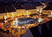 Одна из самых красивых рождественских ярмарок открылась в Румынии