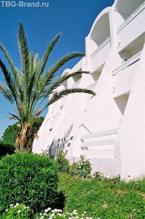Отель Bel Azur - дворики