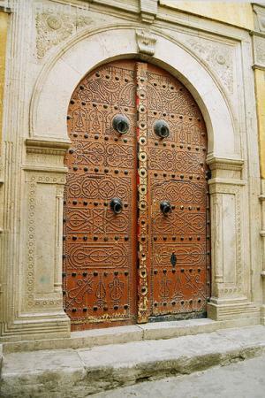 В переулках медины Туниса