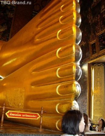 Ноги лежащего Будды. Бангкок