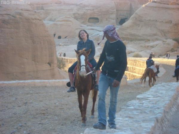 Этот бедуин предлагает мне замуж. Судя по лицу, почти соглашаюсь
