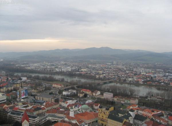 Вид на почти всю Словакию