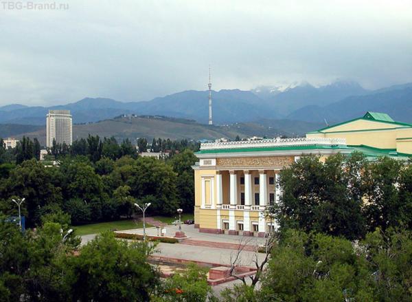Алматы. Горы за околицей