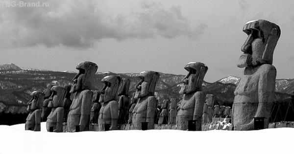 На острове Пасхи выпал первый снег...