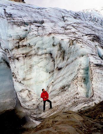 Пришел поздороваться с ледником Корыто