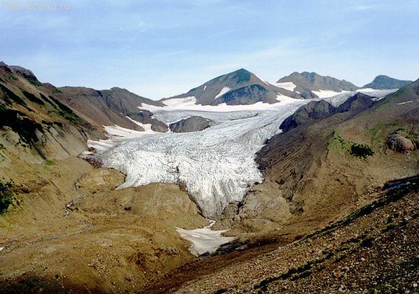 Лапа ледника Правое Поле Маркова