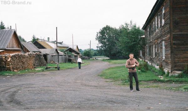 В ожидании вертолета. Поселок Козыревск в долине р.Камчатка
