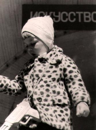 Тот же 1980 год. Москва. С.А.Чумичёв ищет себя в искусстве.